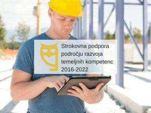 Razvoj kompetenc odraslih 2016–2022