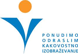 Logo Ponudimo odraslim kakovostno izobraževanje
