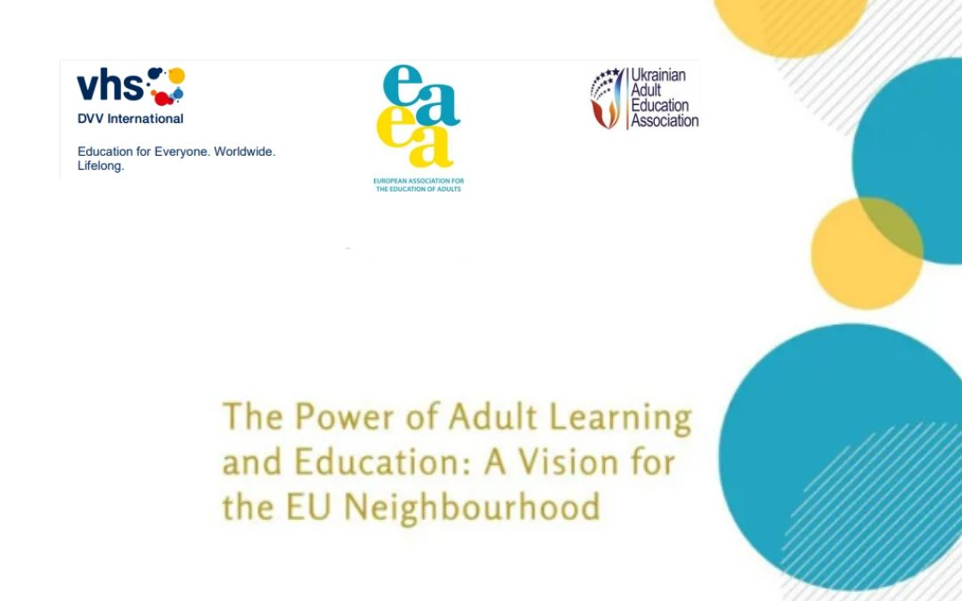 Forum Moč učenja in izobraževanja odraslih: vizija za evropsko sosedstvo