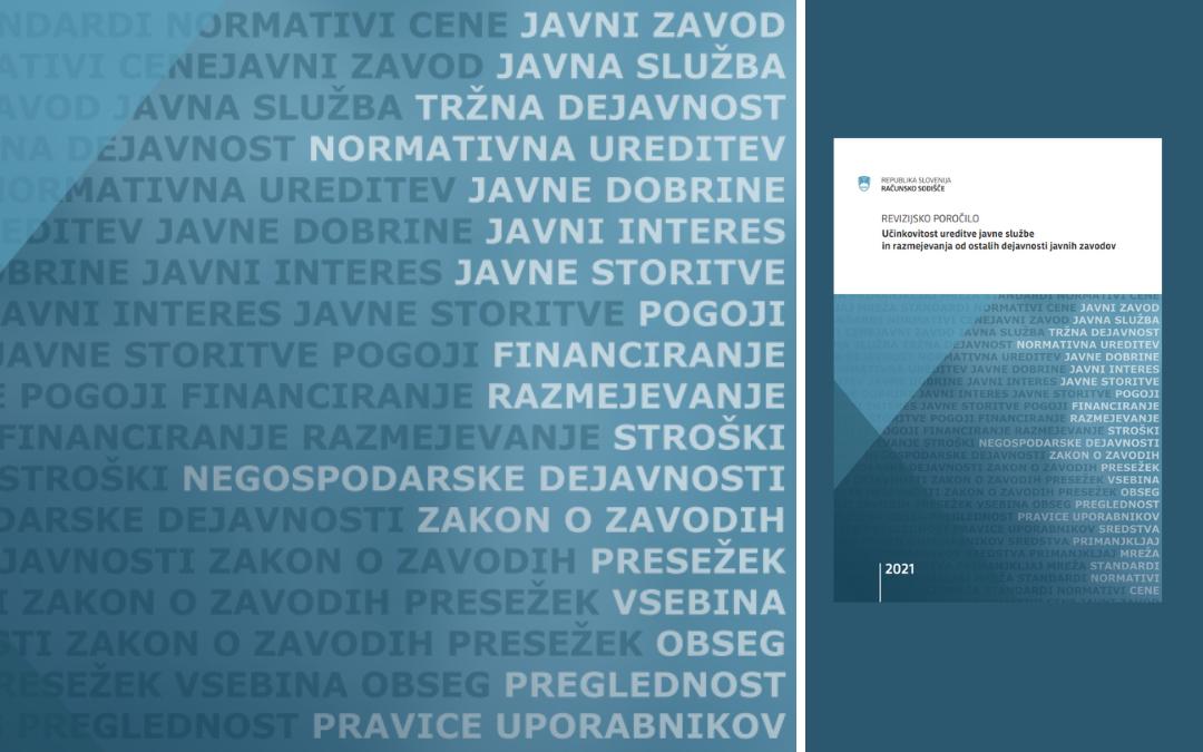 Slika naslovnice revizijskega poročila.